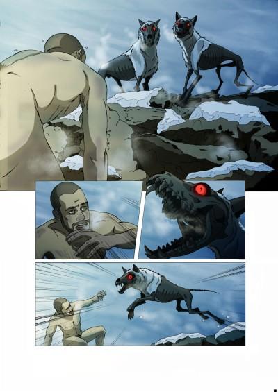 Projet de webcomic réalisé avec Leia Izamo comme co-scénariste : http://lemondeblanc.wordpress.com/