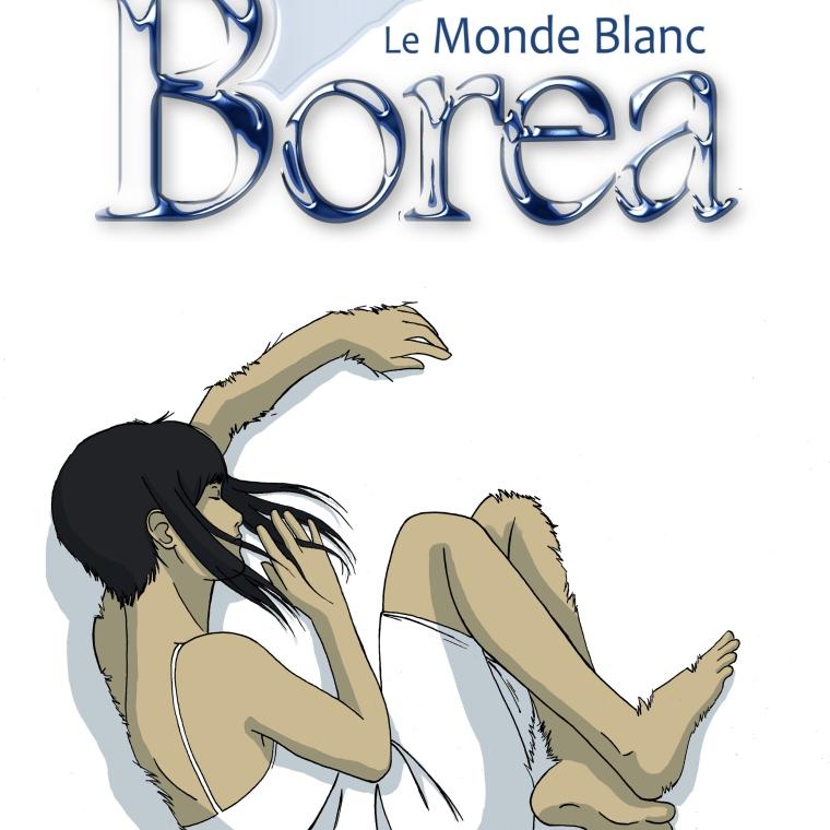 Illustration pour un projet de webcomic réalisé avec Leia Izamo comme co-scénariste : http://lemondeblanc.wordpress.com/