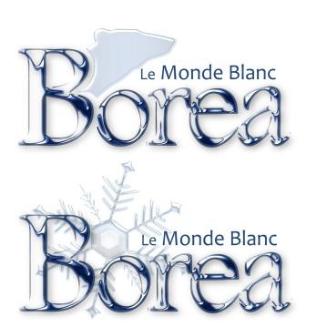 Logos de titre pour mon projet de webcomic réalisé avec Leia Izamo comme co-scénariste : http://lemondeblanc.wordpress.com/