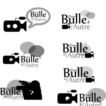 Logos réalisés pour la société d'Une Bulle à l'Autre - http://www.dunebullealautre.com/