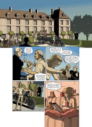 Planche 2 - Scénario de Lionel Colbère- Pour en en savoir plus le projet : http://lionel.colbere.free.fr/chomages.html