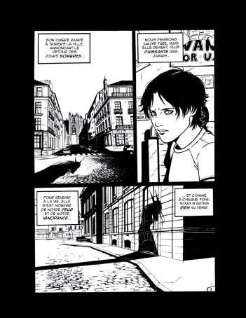 Histoire courte pour le concours Jeunes Talents Angoulême 2005 (finaliste)