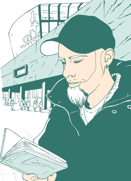 Illustration pour le Guide de Rennes (non retenue - 2008)