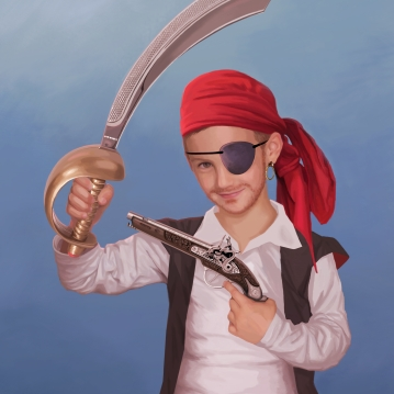 Portrait pirate (2017)