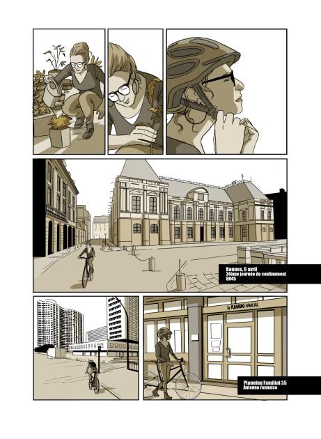 BD reportage Planning Familial (revue La Vilaine - septembre 2020)