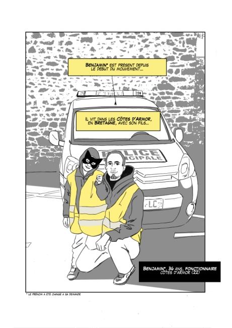 Bulles Jaunes, témoignages de Gilets Jaunes (La Boîte à Bulles - sortie 2021) - https://bullesjaunes.wordpress.com/