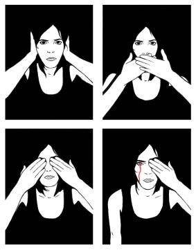 Autour de moi le silence (2019) - https://blogs.mediapart.fr/bulles-jaunes/blog/240919/autour-de-moi-le-silence